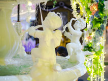 The cupid statue fountain. Stock Photography