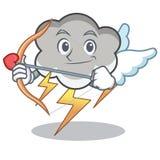 Cupid Thunder Cloud Character Cartoon Royalty Free Stock Photo