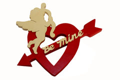 Cupid Valentine Be Mine Stock Image