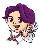 Cupid zodiac illustration Stock Photos