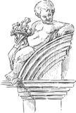 Cupido architettonico Immagine Stock