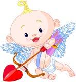 Cupido del día de Valentine's Fotografía de archivo