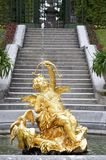 Cupido jolly fountain. In Germany. Linderhof Stock Image