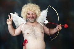 Cupido maduro Imagenes de archivo