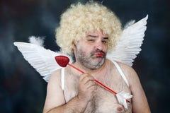 Cupido maduro Imagens de Stock Royalty Free