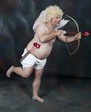 Cupido maturo Fotografie Stock