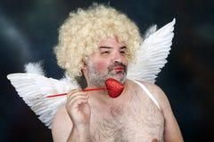 Cupido maturo Fotografie Stock Libere da Diritti