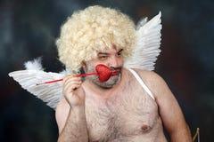 Cupido maturo Fotografia Stock Libera da Diritti