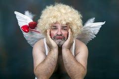 Cupido maturo Fotografia Stock