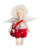 Cupido no branco Imagens de Stock