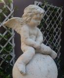 Cupido pequeno triste Foto de Stock