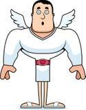 Cupido surpreendido desenhos animados ilustração royalty free