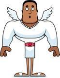Cupido surpreendido desenhos animados ilustração do vetor