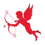 Cupido vector. Cupid symbol valentine and love, vector illustration Stock Photography