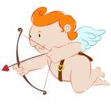 Cupido weinig hoek Royalty-vrije Stock Afbeeldingen