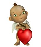Cupidon 1 d'imagination Photo stock