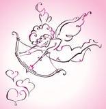 Cupidon Image libre de droits
