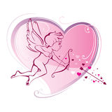 Cupidon Royaltyfria Foton