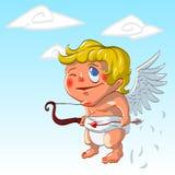 Cupidon de bande dessinée Photo libre de droits