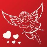 Cupidon doux Images libres de droits