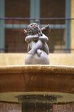 Cupidon en pierre Photographie stock libre de droits
