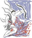 Cupidon, jour de valentines Image libre de droits