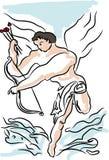 Cupidon, jour de valentines Photographie stock