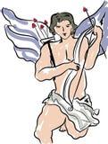 Cupidon, jour de valentines illustration stock