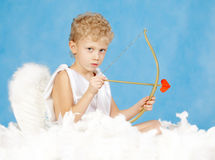 Cupidon mâle Images stock