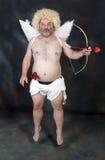 Cupidon mûr Images libres de droits