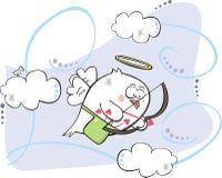 Cupidovogel stock illustratie