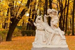 cupidpsykeskulptur Royaltyfria Bilder