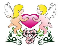 Cupids Stock Images