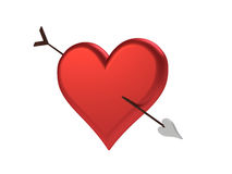 Cupids Arrow Stock Image