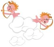 Cupids with Arrows Stock Photos