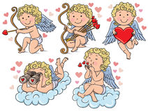 Cupids kids Stock Images