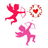Cupids take aim Stock Photography