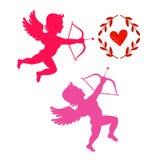 Cupids take aim Stock Photography