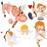Cupids Vectors Stock Photo