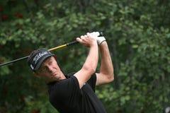Cupillard, golf vert de velours pro-suis, Megeve, 2006 Images libres de droits
