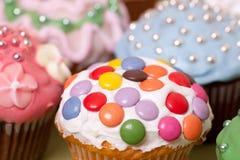 Cupkuchen Stockbild