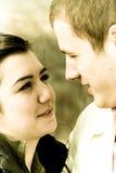 cuple miłości Zdjęcia Stock
