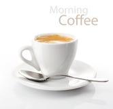 Cupmorgenkaffee lizenzfreies stockbild