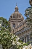 Cupola świętego Agatha katedra w Catania Zdjęcie Stock