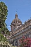Cupola świętego Agatha katedra w Catania Fotografia Stock