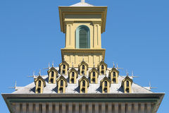 Cupola. Very ornate Bird House Cupola Stock Image