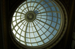 Cupola. Large circular cupola, National Gallery, London Stock Photography
