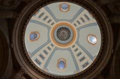 Cupola alla legislatura di Manitoba Fotografia Stock Libera da Diritti
