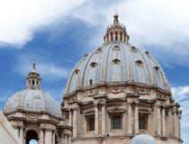 Cupola of the Basilica of Saint Peter Royalty Free Stock Images
