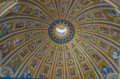 Cupola of Basilica San Pietro Stock Images